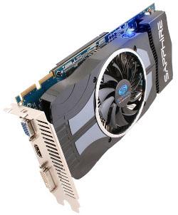 Фотография видеокарты Radeon HD 4870