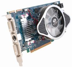 Фотография видеокарты Radeon HD 4830