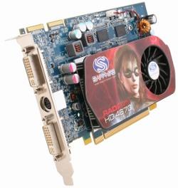 Фотография видеокарты Radeon HD 4670