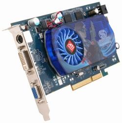 Фотография видеокарты Radeon HD 3650 (GDDR3)