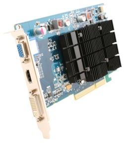 Фотография видеокарты Radeon HD 3450