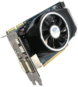 Фотография видеокарты Radeon HD 5750
