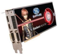 Фотография видеокарты Radeon HD 5770