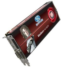 Фотография видеокарты Radeon HD 5870