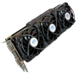 Фотография видеокарты Radeon HD 5970