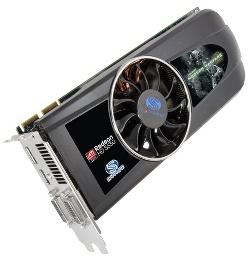 Фотография видеокарты Radeon HD 5830