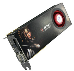 Фотография видеокарты Radeon HD 6950