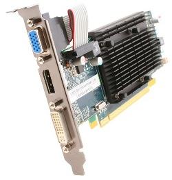 Фотография видеокарты Radeon HD 5450