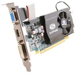 Фотография видеокарты Radeon HD 5550