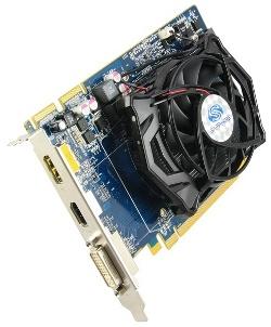 Фотография видеокарты Radeon HD 5670