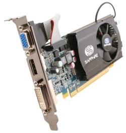 Фотография видеокарты Radeon HD 5570