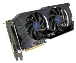 Фотография видеокарты Radeon HD 7950