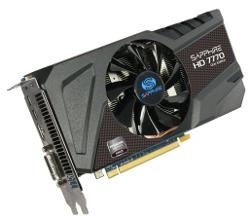 Фотография видеокарты Radeon HD 7770