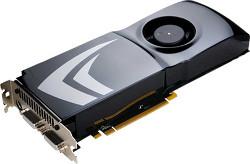 Фотография видеокарты GeForce GTS 150