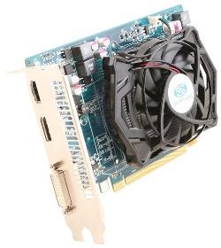 Фотография видеокарты Radeon HD 6670