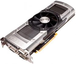 Фотография видеокарты GEFORCE GTX 690