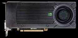Фотография видеокарты GEFORCE GTX 660