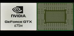 Фотография видеокарты GeForce GTX 675M