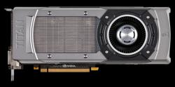 Фотография видеокарты GeForce GTX Titan