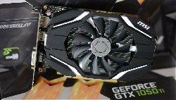 Фотография видеокарты GEFORCE GTX 1050 TI мобильная
